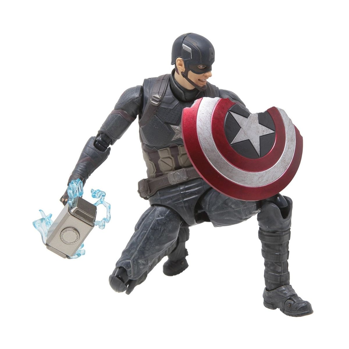 Action Figure Capitão América Batalha Final: S.H. Figuarts Vingadores Ultimato Vingadores Ultimato