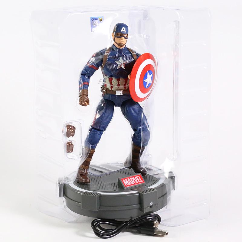 Action Figure Capitão América Capitain America: Vingadores Ultimato Avengers End Game - MKP