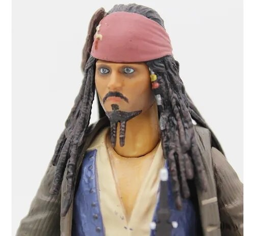 Action Figure Capitão Jack Sparrow Piratas do Caribe - Legend Creation