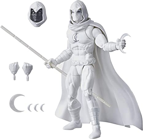 Action Figure Cavaleiro da Lua Moon Knight: Marvel Legend Series - Hasbro