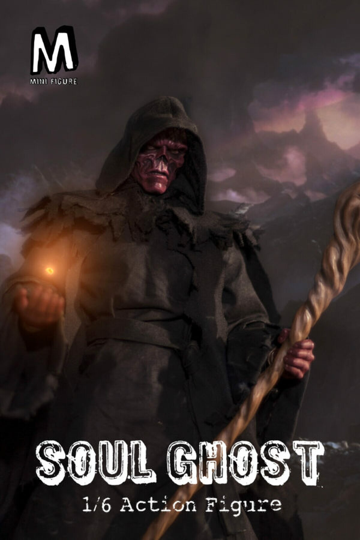 Action Figure Caveira Vermelha Soul Ghost: Os Vingadores Ultimato Avengers Endgame Escala 1/6 - Mini Figure