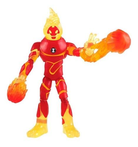 Action Figure Chamas Heatblast: Ben 10 - Sunny