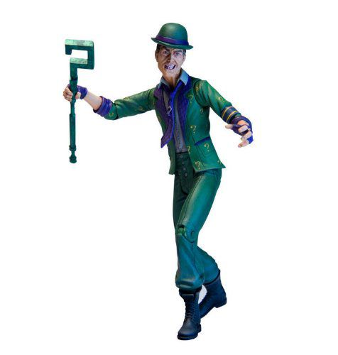 Action Figure Charada (The Riddler): Batman Arkham City (Boneco Colecionável) - DC Direct