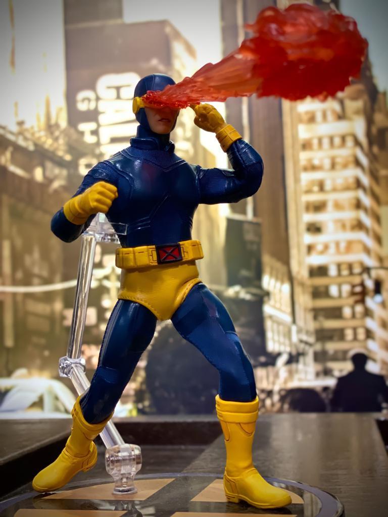 Action Figure Ciclope Cyclops: X-Men (Exclusive Version) One:12 Collective (Escala 1/12) - Mezco