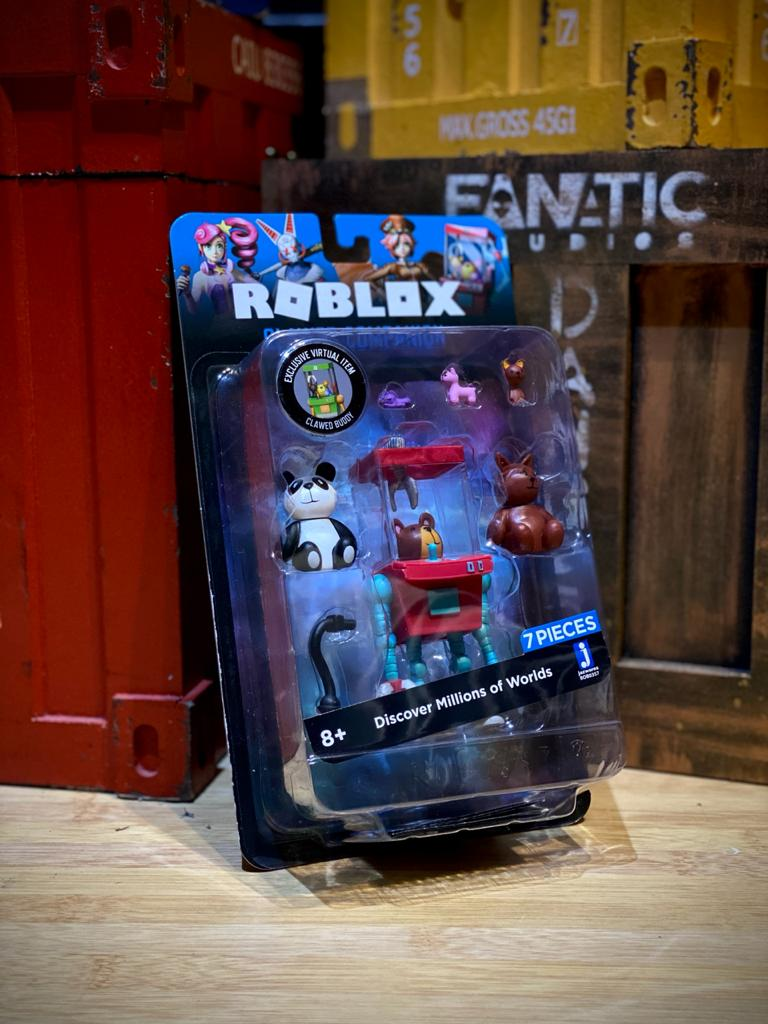 Action Figure Clawed Companion Discover Millions Of Worlds: Roblox - Sunny
