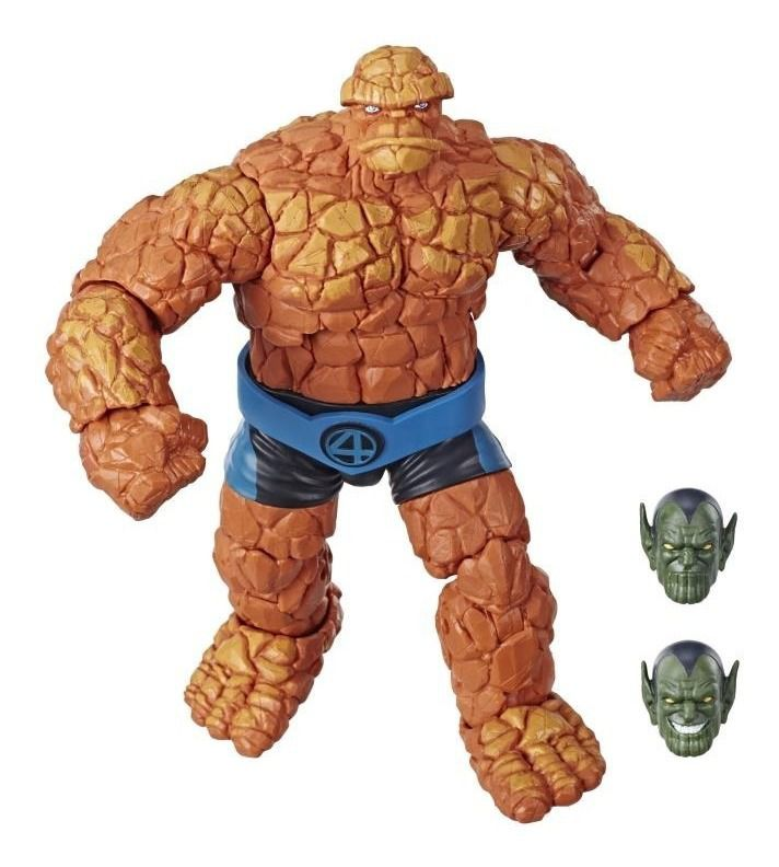 Action Figure Coisa (Things): Quarteto Fantástico (Fantastic Four) Marvel Legends Series - Hasbro