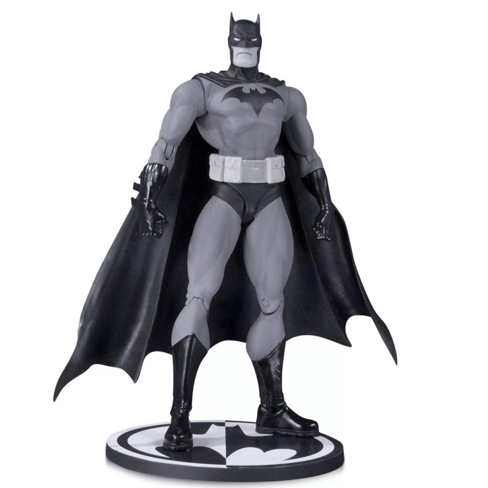 Action Figure Colecionável Batman: Black and White (Jim Lee) DC Collectibles - CD