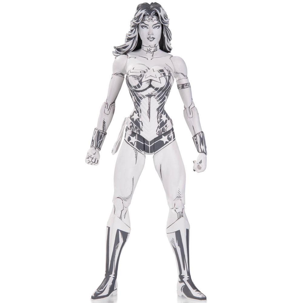 Action Figure Colecionável Mulher Maravilha Wonder Woman Blueline (by Jim Lee) DC Collectibles - CD