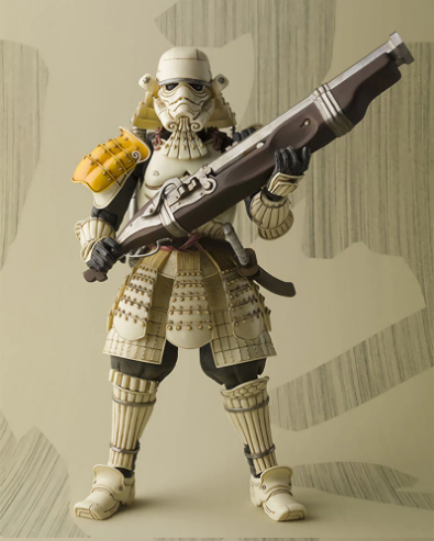 Action Figure Colecionável Stormtrooper Samurai Taisho: Star Wars Disney