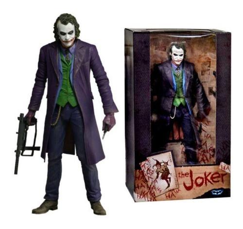 Action Figure Coringa Joker Batman O Cavaleiro Das Trevas The Dark Knight DC Comics - Neca - EVALI