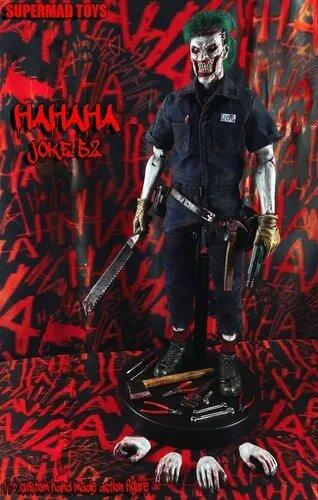 Action Figure Coringa Novos 52: Joker Novos 52 Dc Comics Escala 1/6 - Supermad Toys