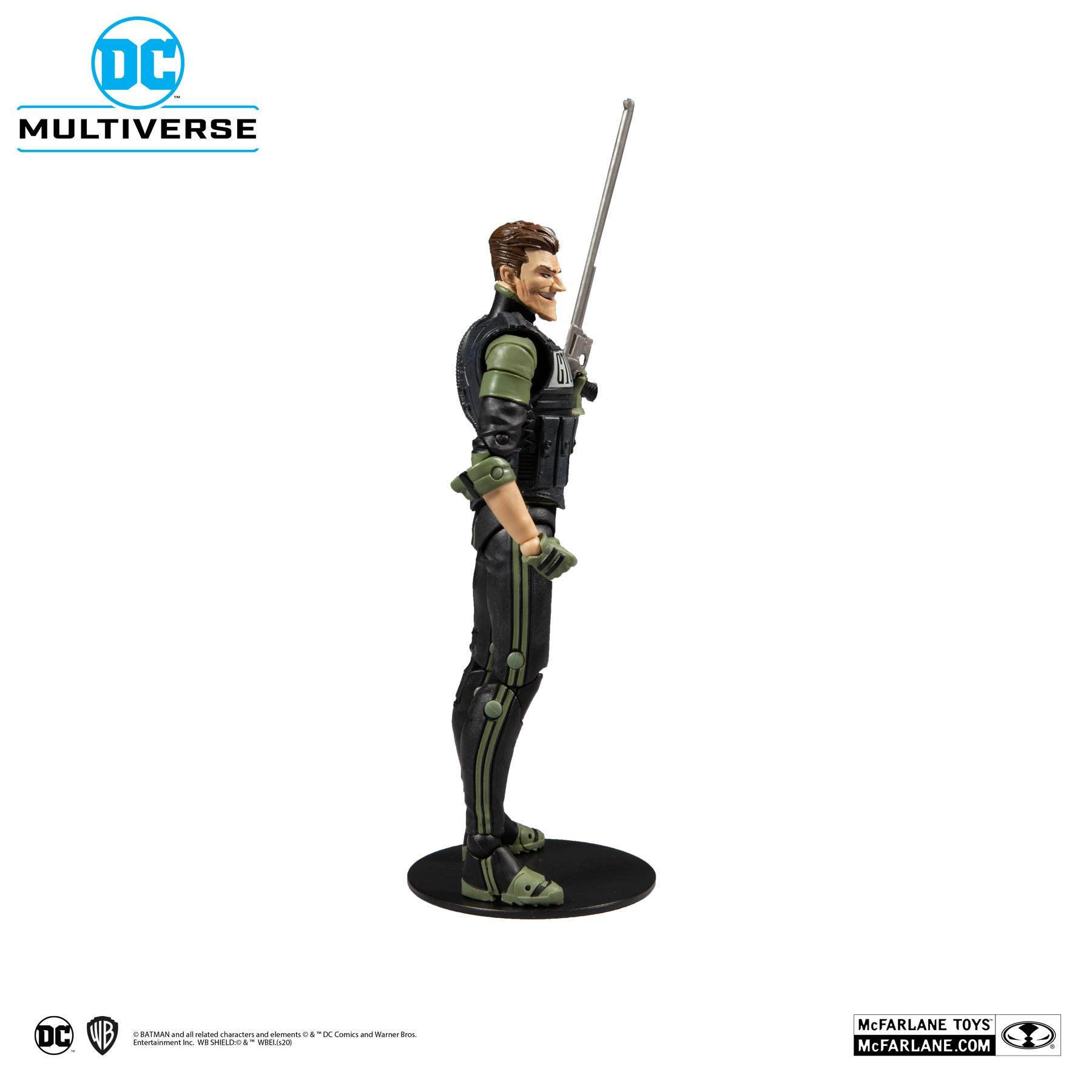 Action Figure Coringa O Cavaleiro Branco (The Joker White Knight): DC Multiverse - McFarlane Toys