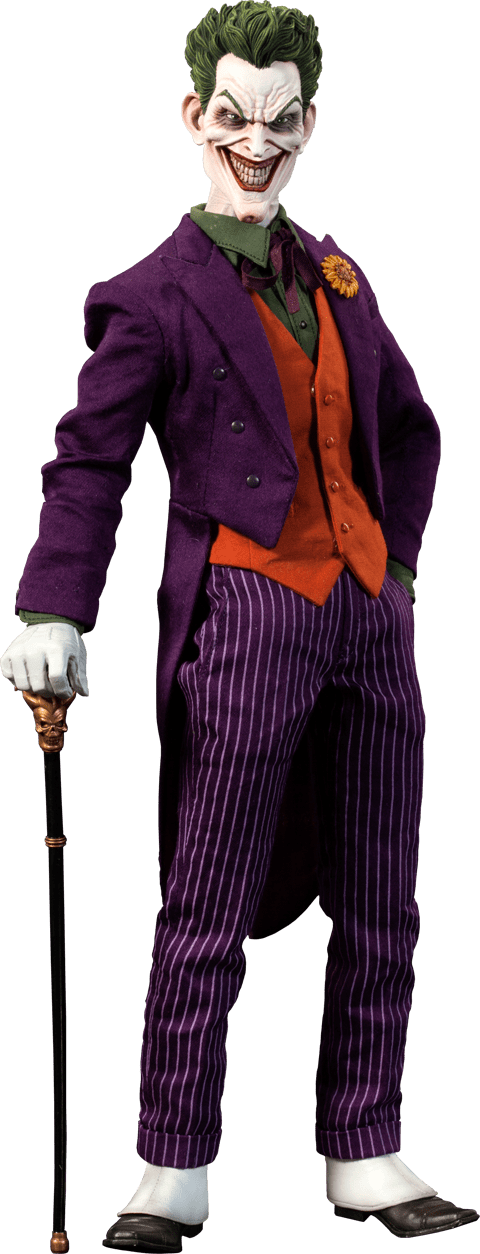 Action Figure Coringa (The Joker): Batman A Piada Mortal (The Killing Joke) Escala 1/6 - Sideshow Collectibles