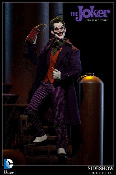Action Figure Coringa (The Joker): Batman A Piada Mortal (The Killing Joke) Escala 1/6 - Sideshow Collectibles