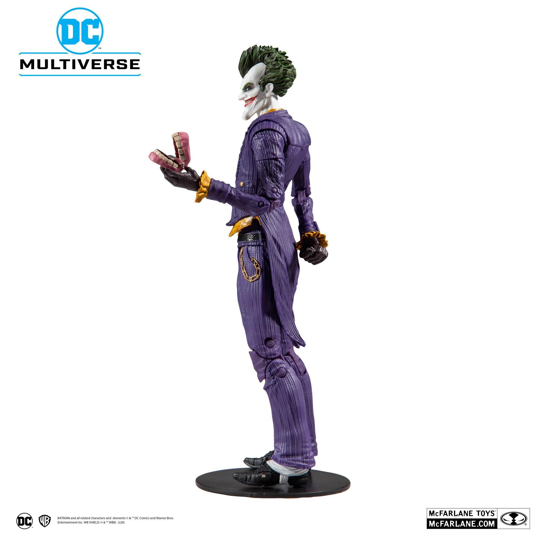 Action Figure Coringa (The Joker): Batman Arkham Asylum (DC Multiverse) - McFarlane Toys