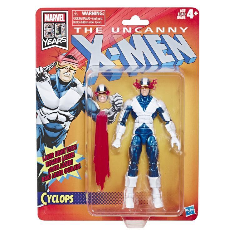 Action Figure Cyclops: The Uncanny X-Men Marvel Legends (80th Anniversary) Boneco Colecionável - Hasbro