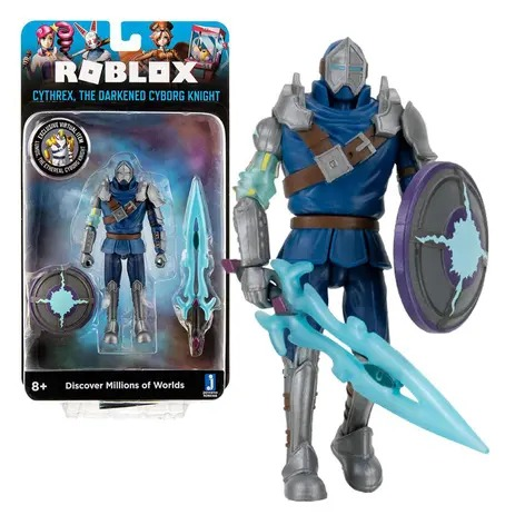 Action Figure Cythrex The Darkned Cyborg Knight: Roblox - Sunny