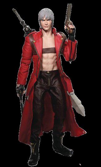 Action Figure Dante: Devil May Cry 3: Dante's Awakening (Escala 1/6) - Asmus Toys
