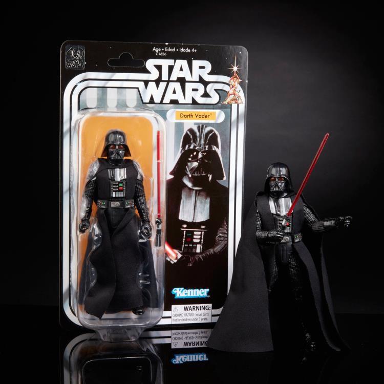 Action Figure Darth Vader: Star Wars (40th Anniversary) The Black Series (Legacy Pack) - Hasbro (Apenas Venda Online)