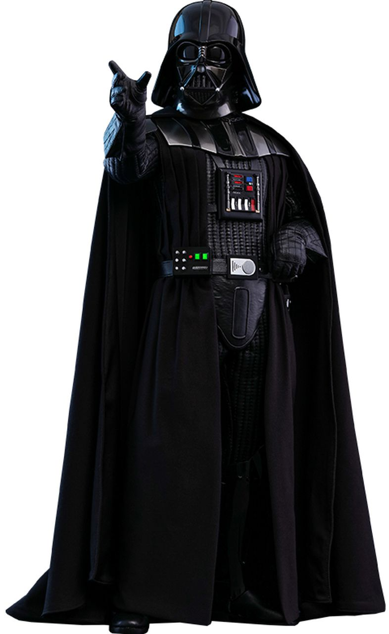 Action Figure Darth Vader: Star Wars O Retorno de Jedi (Return of the Jedi) QS013 (Escala 1/4) - Hot Toys