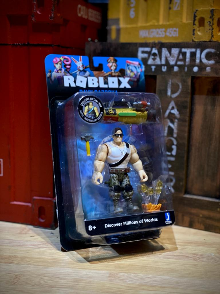 Action Figure Davy Bazooka Discover Millions Of Worlds: Roblox - Sunny
