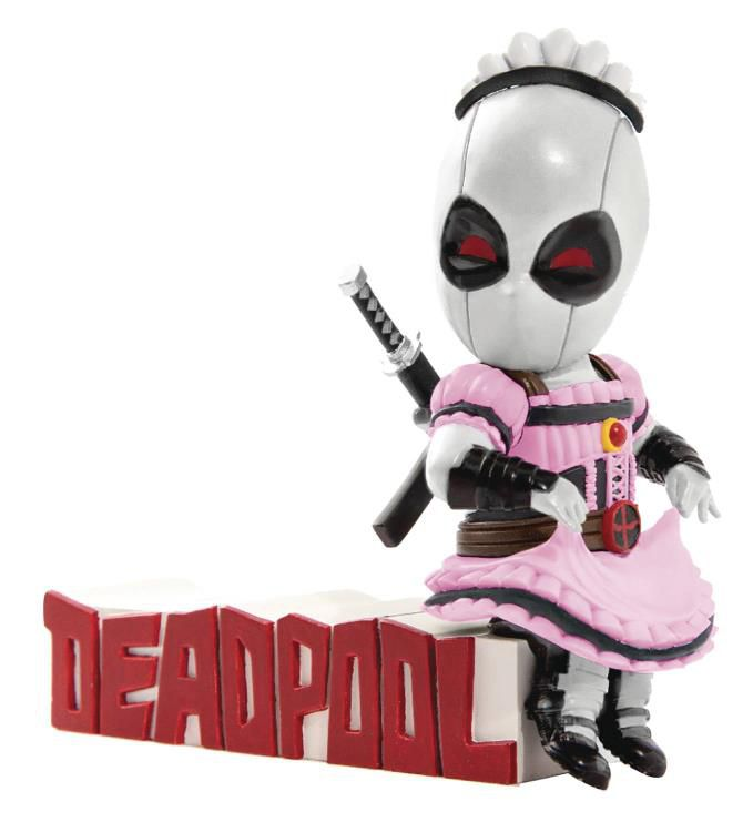 Action Figure Deadpool:  (Mini Egg Attack) MEA-004 X-Force (PX Previews Esclusive) Boneco Colecionável - Beast Kingdom