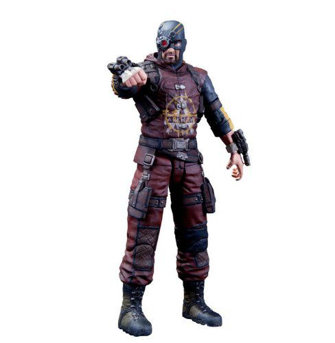 Action Figure Deadshot: Batman Arkham City (Boneco Colecionável) - DC Direct