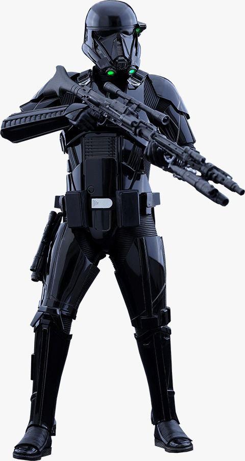 Action Figure Death Trooper: Rogue One Uma História Star Wars (A Star Wars Story) Boneco Colecionável Escala 1/6 (MMS398) - Hot Toys