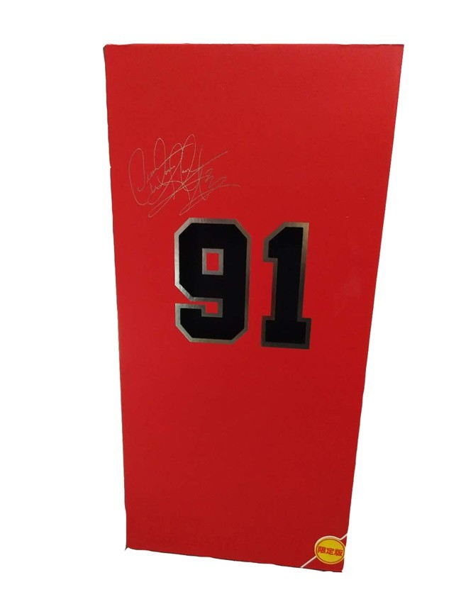 Action Figure Dennis Rodman: NBA (Real Masterpiece) Chicaco Bulls 91 Escala 1/6 - Enterbay