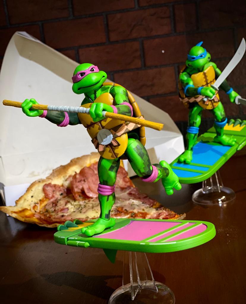 Action Figure Donatello: As Tartarugas Ninja Teenage Mutant Ninja Turtles: Turtles in Time - Neca