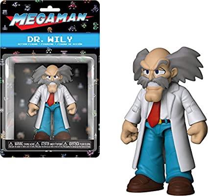 Funko Action Figure: Dr. Wily : Mega Man - Funko