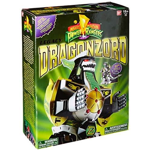 Action Figure Dragonzord: Power Rangers Mighty Morphin Legacy Green - Bandai