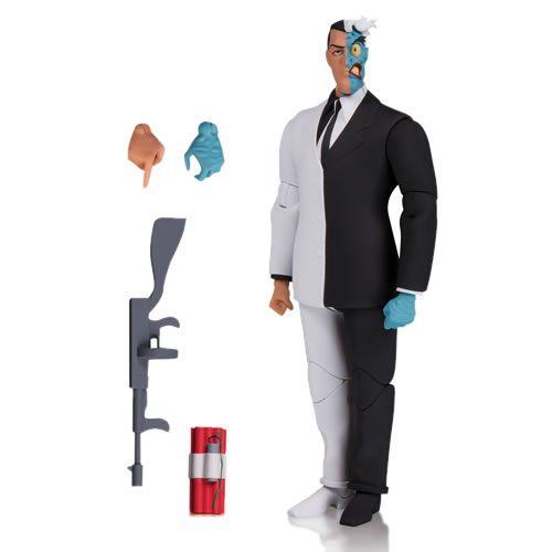 Action Figure Duas-Caras (Two-Face): Batman New Adventures (The Animated Series) Boneco Colecionável - DC Collectibles (Apenas Venda Online)