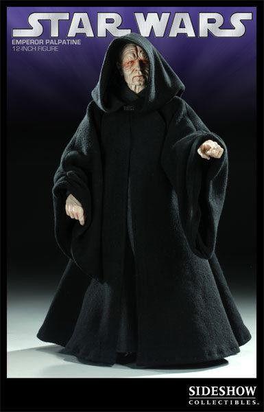 Action Figure Emperor Palpatine: Star Wars (Escala 1/6) Boneco Colecionável - Sideshow Collectibles