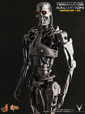 Action Figure Endoskeleton T-700: Exterminador Do Futuro a Salvação (Terminator Salvation) Escala 1/6 MMS94 - Hot Toys
