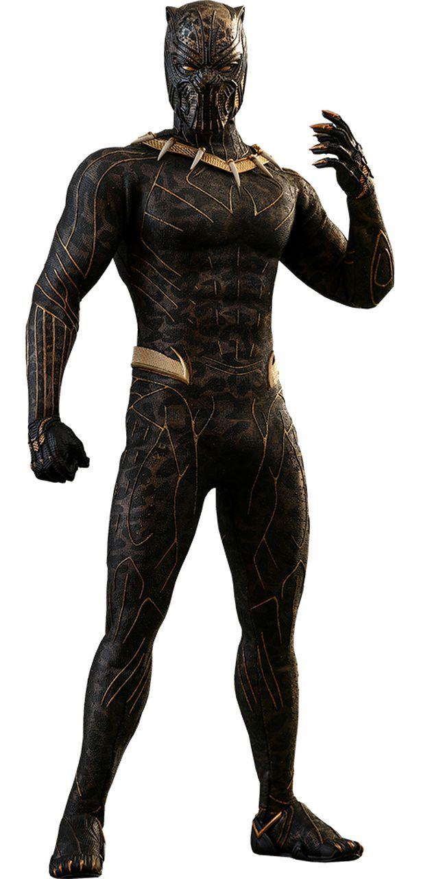 Action Figure Erik Killmonger: Pantera Negra (Black Panther) Escala 1/6 (MMS471) - Hot Toys