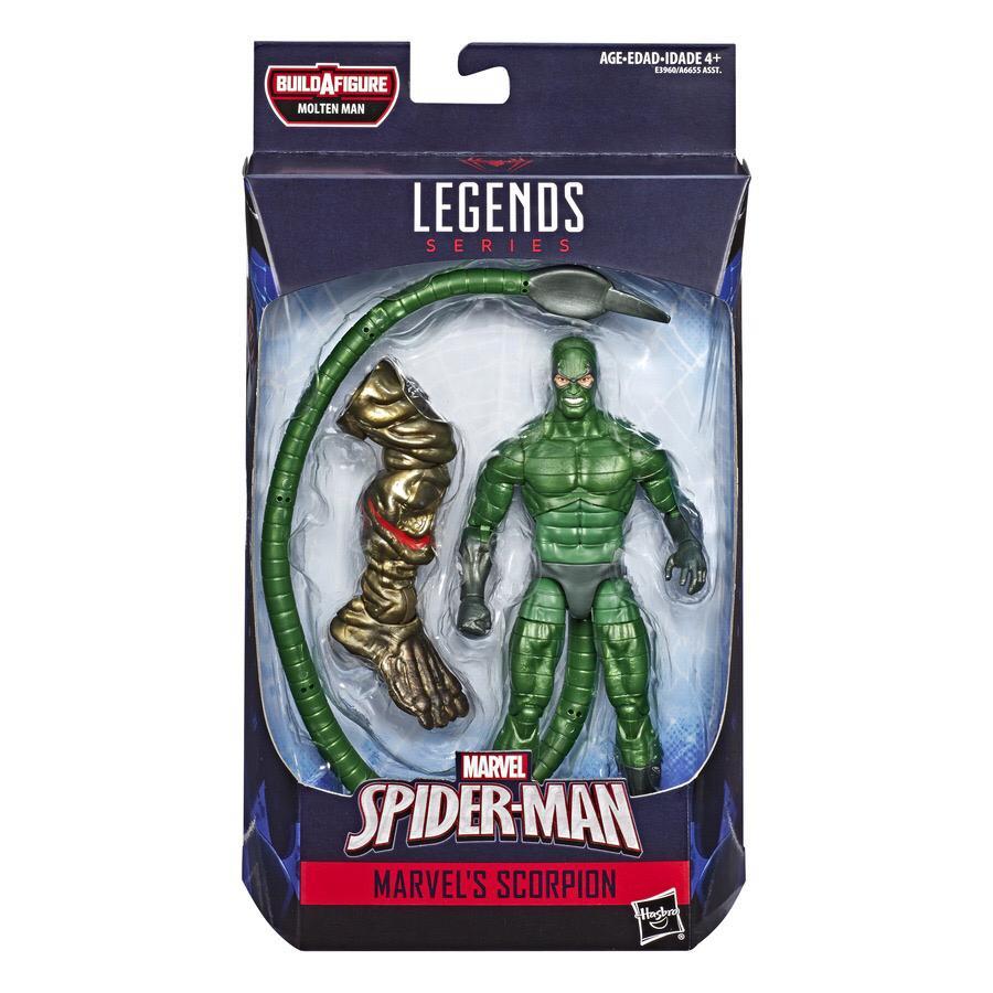Action Figure Escorpião (Scorpion): Homem-Aranha (Spider-Man) Marvel Legends - Hasbro