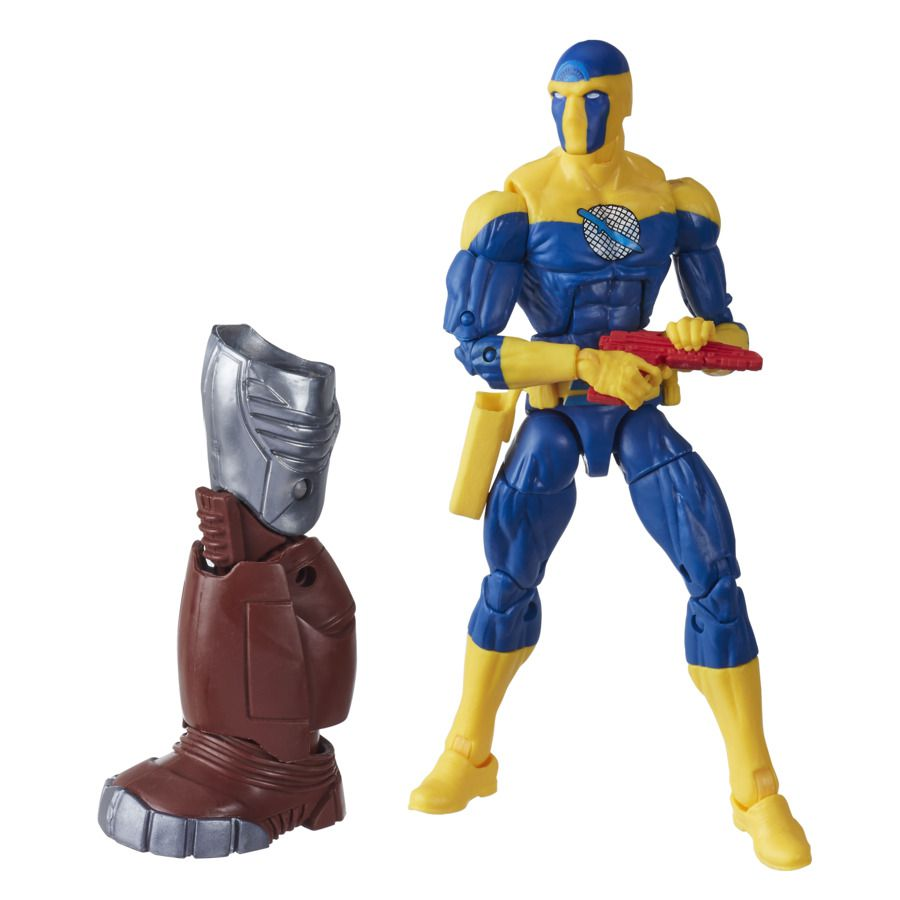 Action Figure Espião-Mestre (Spymaster): Crimson Dynamo Build-A-Figure Marvel Legends Series E8771 - Hasbro