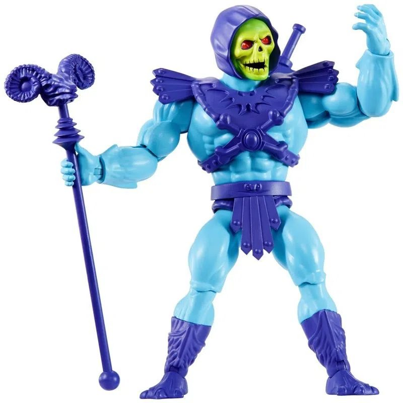 Action Figure Esqueleto Skeletor: He-Man e os Mestres do Universo He-man and the Masters of the Universe - Mattel