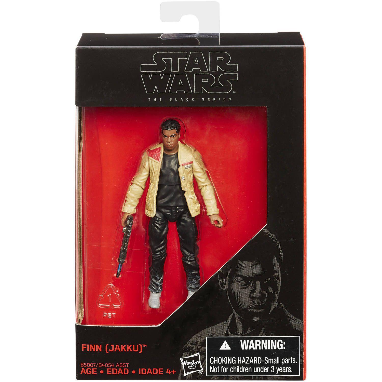 Action Figure Finn (Jakku): Star Wars (The Black Series) - Boneco Colecionável - Hasbro