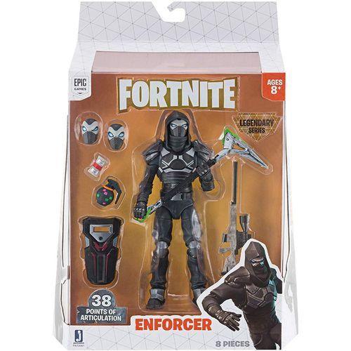 Action Figure Fortnite Série Legendária Enforcer- Sunny