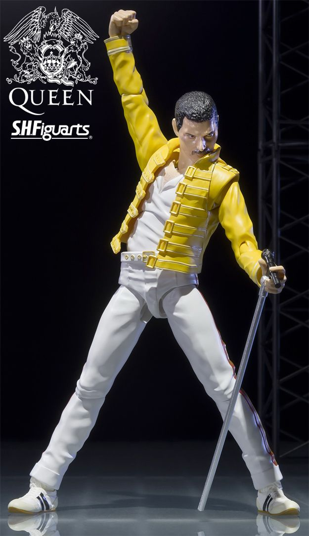 Action Figure Freddie Mercury - Live Aid Version S.H. Figuarts - Bandai