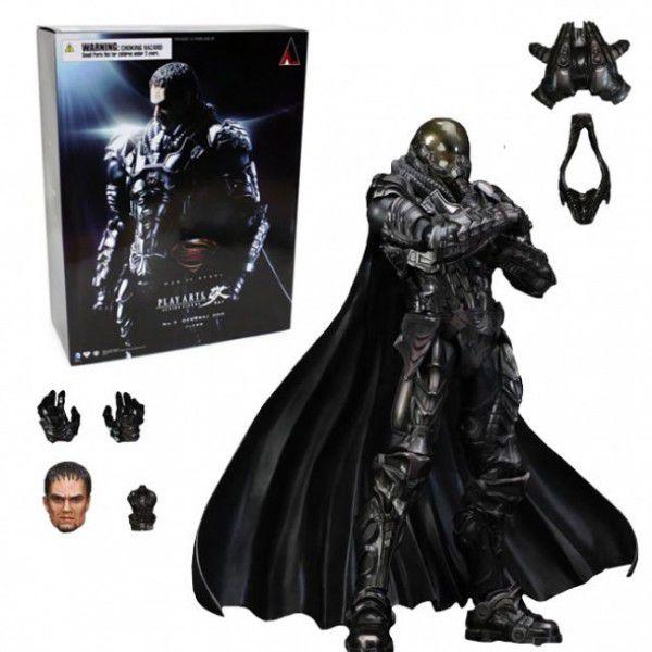 Action Figure General Zod: O Homem de Aço (Man Of Steel) Boneco Colecionável - Play Arts Kai Square Enix