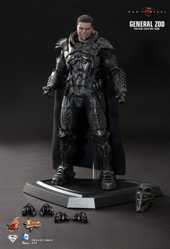 Action Figure General Zod: O Homem de Aço (Man of Steel) Escala 1/6 (MMS216) - Hot Toys