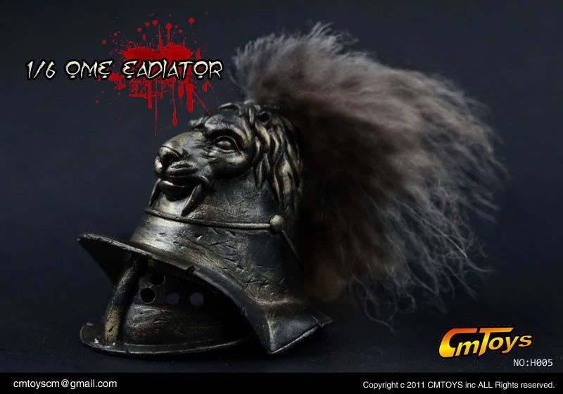 Action Figure Gladiador Romano: Spartacus Escala 1/6 (H005) - CM Toys