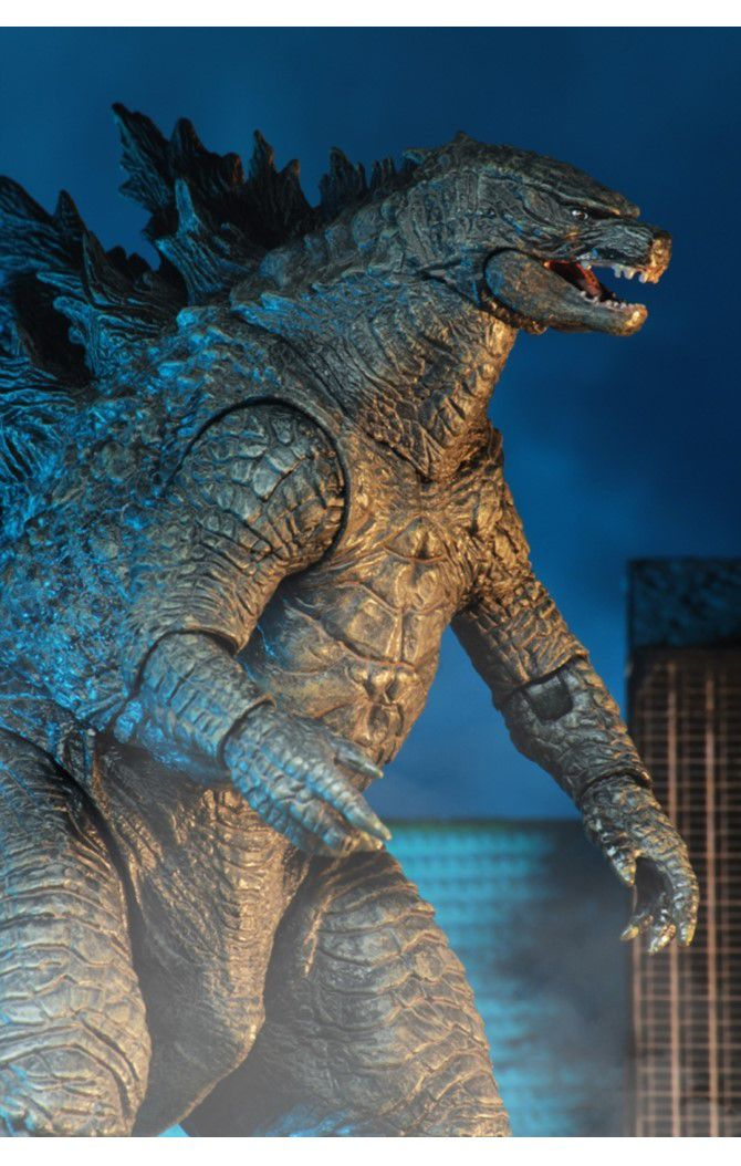 Action Figure Godzilla: Godzilla II Rei dos Monstros (Boneco Colecionável) - Neca