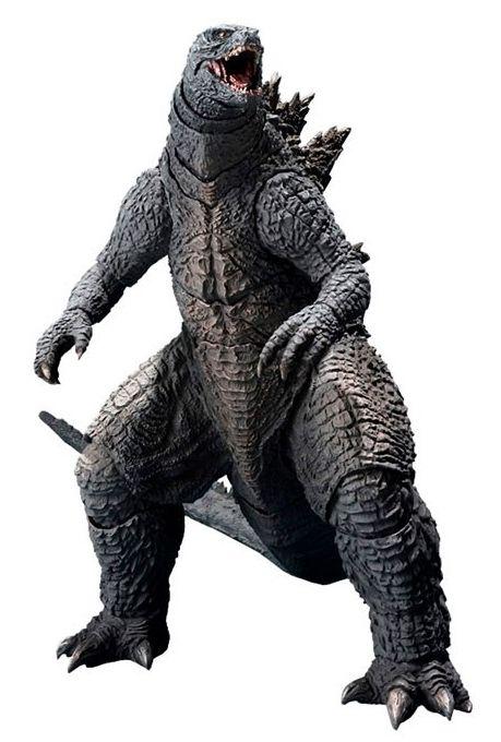 Action Figure Godzilla: Godzilla II Rei dos Monstros (S.H.MonsterArts) Boneco Colecionável - Bandai