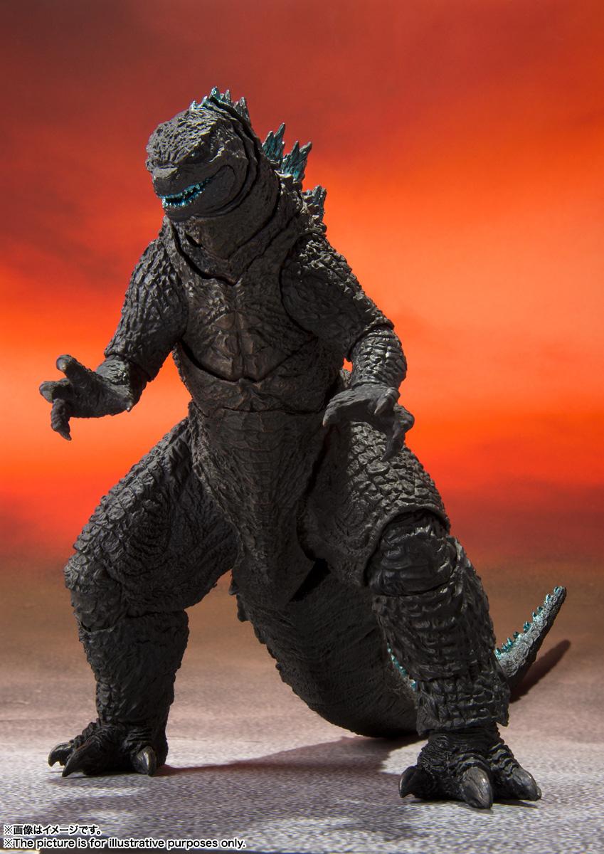 Action Figure Godzilla: Godzilla Vs. Kong 2021 MonsterVerse Bandai - H.S Monsters Art