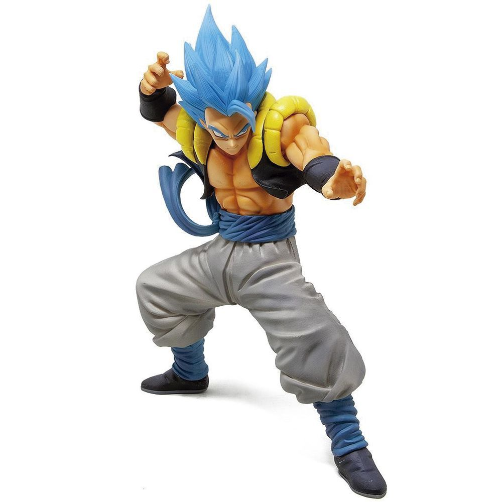 Action Figure Gogeta Blue (Masterlise): Dragon Ball Super (Boneco Colecionável) - Banpresto