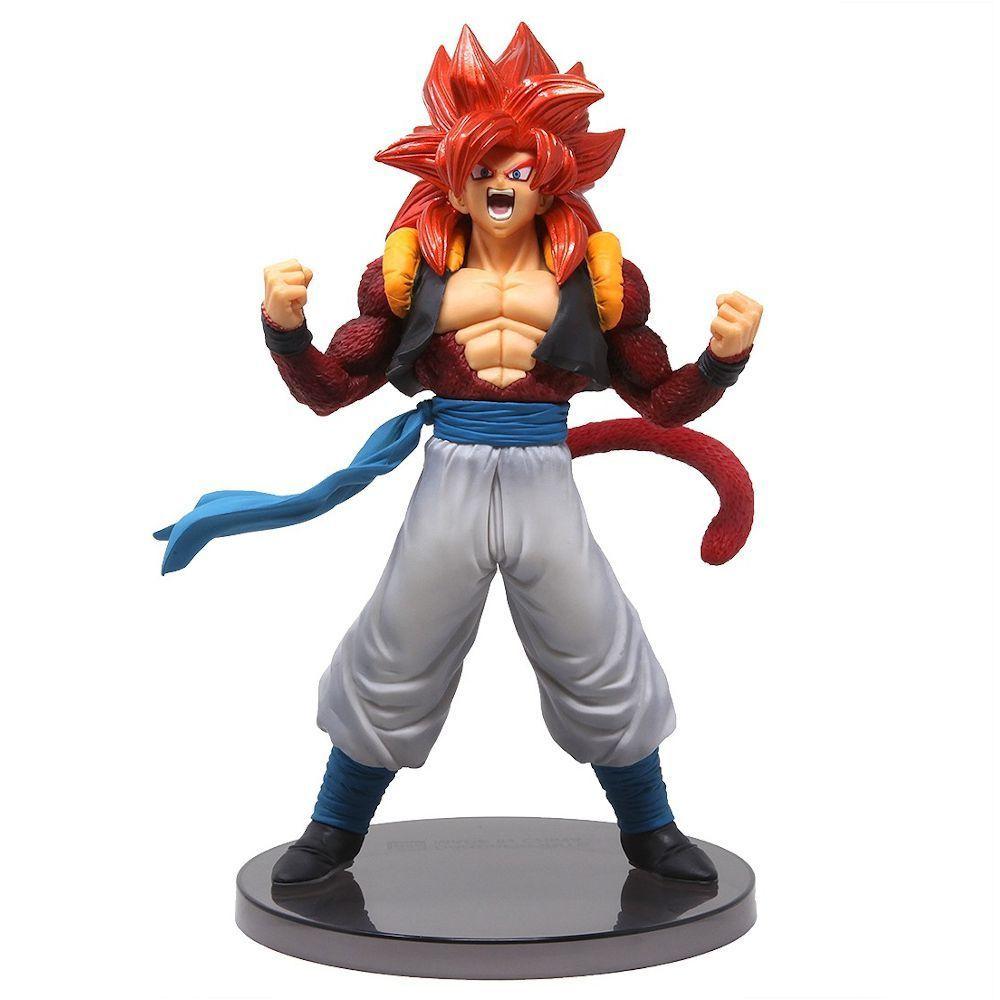 Action Figure Gogeta Super Sayajin 4: Dragon Ball GT (Blood Of Sayan) Boneco Colecionável - Banpresto